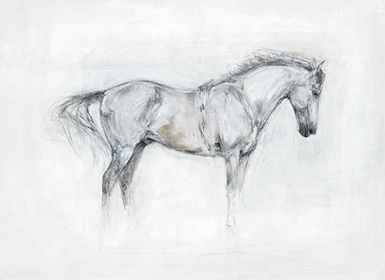 Standing Horse (White)
